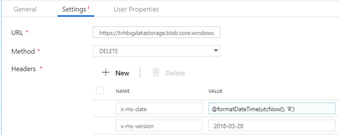 Delete blobs in Azure Data Factory by leveraging MSI | toon