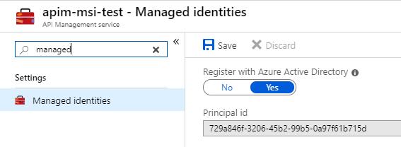 Passwordless last-mile security with Azure API Management